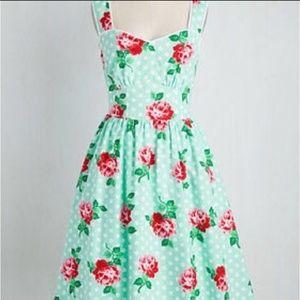 Modcloth Sight for Sunrise Dress